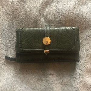 Handbags - Brown Faux Leather Wallet
